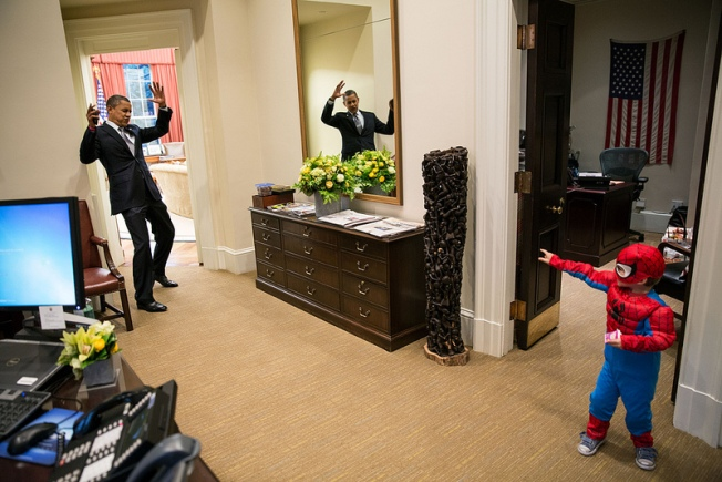 White House Spiderman Is Son of Wethersfield Native