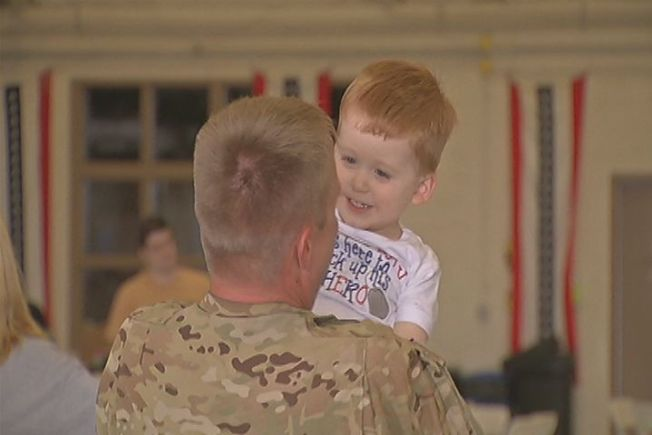 Connecticut Soldiers Come Home After a Year in Afghanistan