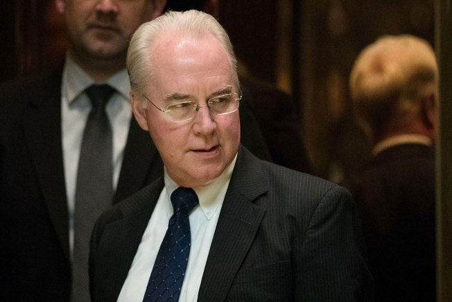 Rep. Tom Price, Leading Voice Against Obamacare, Is Trump's HHS Pick
