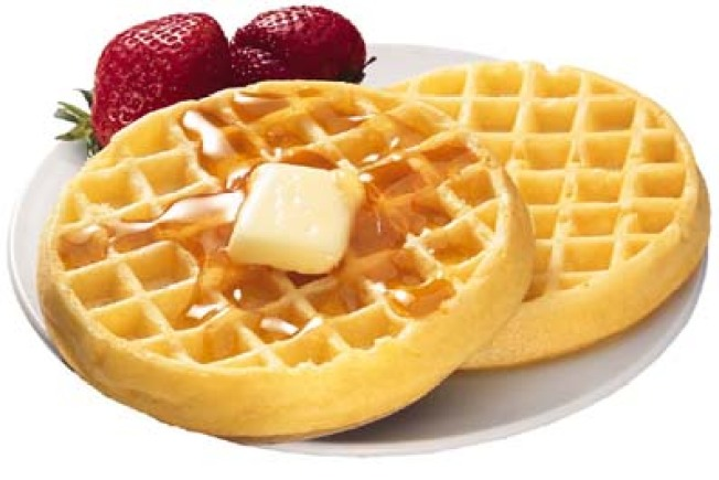 European Style Yeast Raised Waffles
