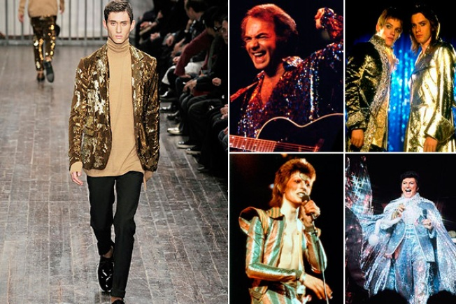 Bizarre Trend Alert: Guys in Sequins