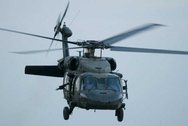 Gamblers Detained After Boarding Military Helicopter: Cops