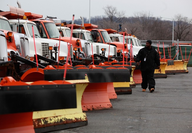 DOT: We're Salting Slick Roads