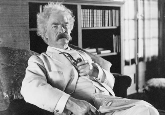 Snow Won't Keep People From The Dirty Mind of Mark Twain