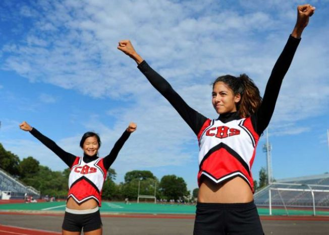 Cheerleaders Say Their Uniforms are Too Skimpy