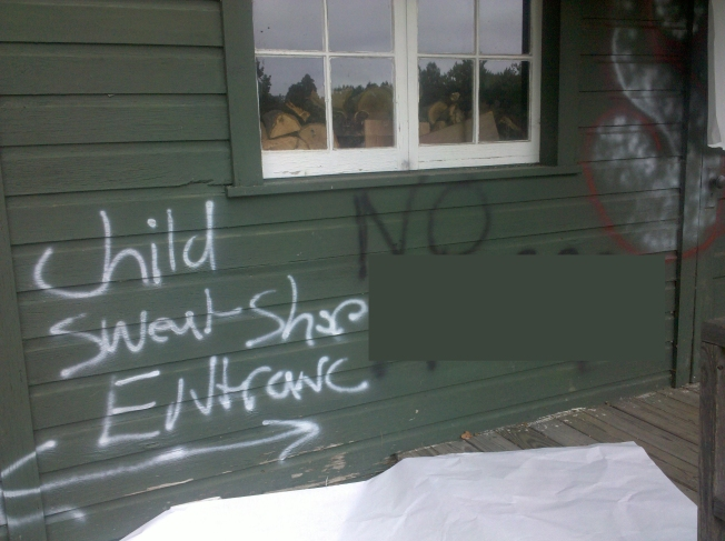 Vandals Spray Racist, Obscene Remarks at Park