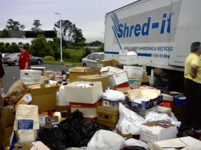 Shred Your Unwanted Documents For Free