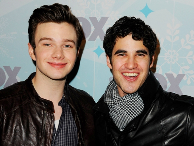 """Glee""'s Chris Colfer on Kurt's Love Life"