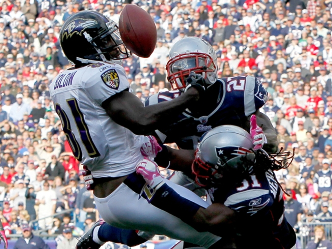 Pats' Meriweather Slammed Over Hit on Ravens