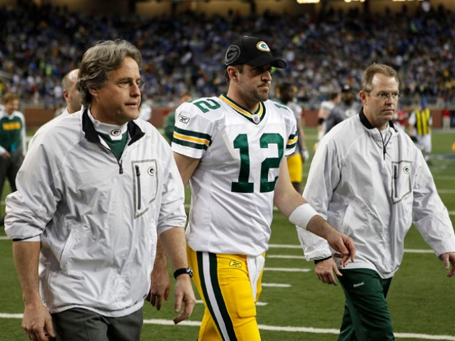 Aaron Rodgers May Not Face Patriots