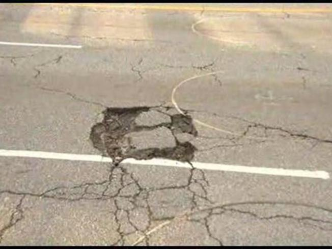 Snowy Winter Creates Early Potholes