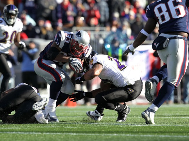Moss-less Patriots Ready to Host Ravens