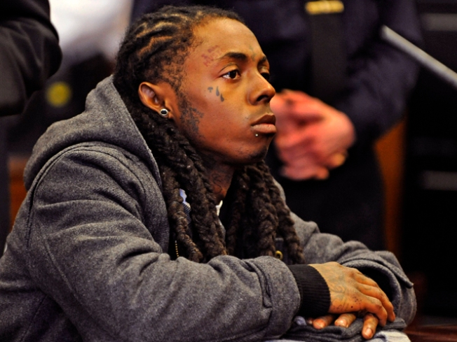 Lil Wayne Carted Off to Jail, Finally