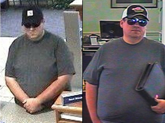 "Cops Not Sure if They Nabbed the ""Burly Bandit"""