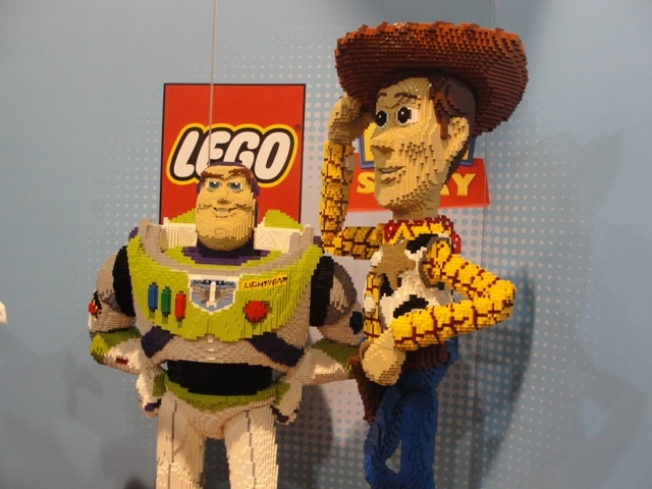 Lego to Expand, With Real Bricks