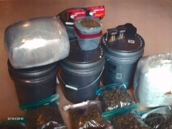 Cops Make 52 Pound Pot Bust in East Hartford
