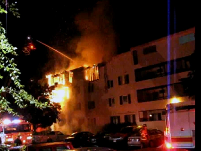About 50 Displaced in Groton Apartment Fire
