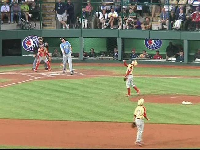 Fairfield Little Leaguers Take First Game at LLWS
