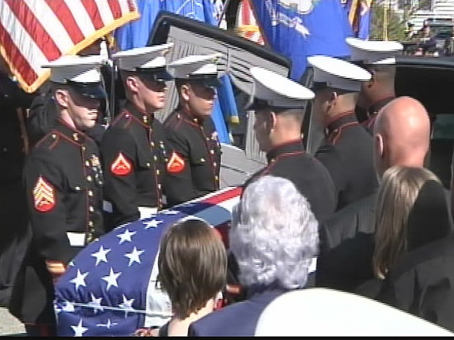 Local Marine Buried in Arlington
