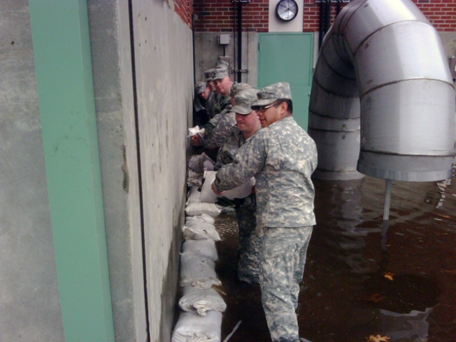 Governor Tours Flooded Areas