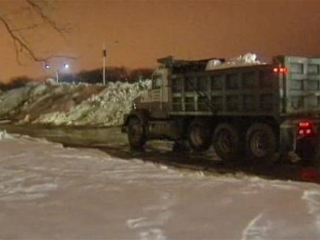 New York Dumps on Connecticut Snow Dumping