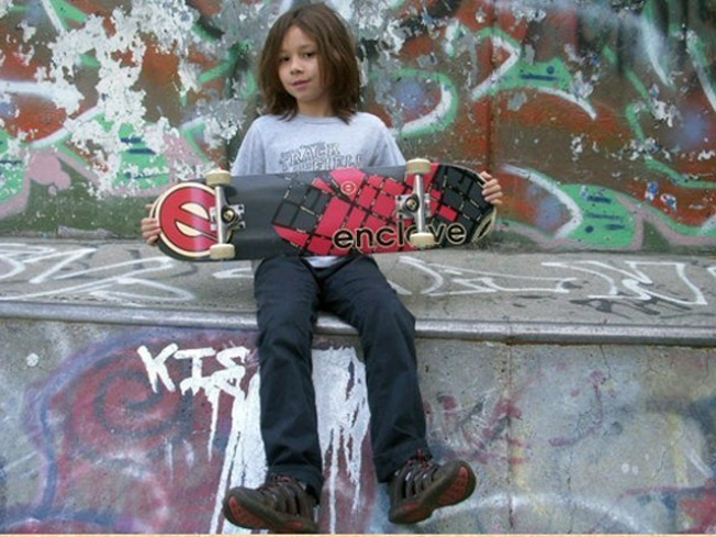 9-Year-Old Could Be Youngest Sponsored Skateboarder