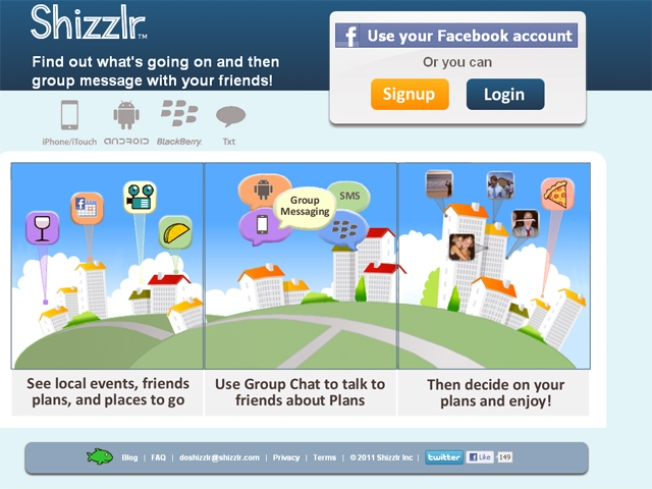 Shizzlr: The Site to Connect to Your Real Friends