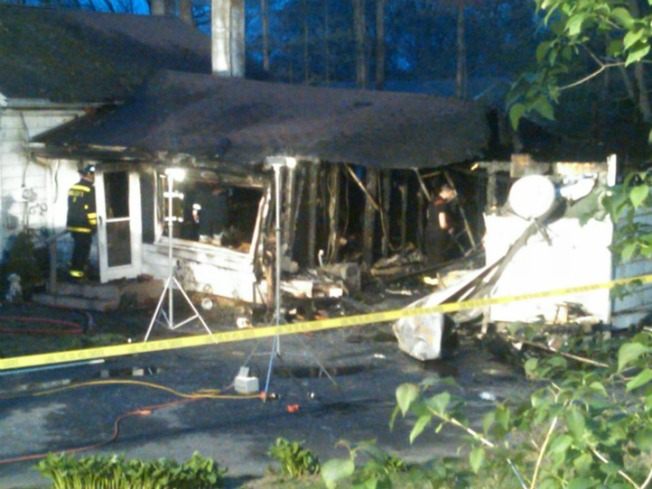 Man Killed in Wolcott House Fire