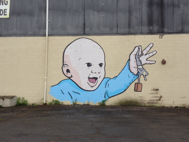 New Haven Graffiti Artist Remains a Mystery