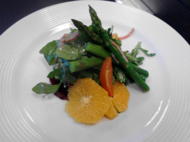 Spring Salad of Asparagus, Arugula, and Citrus with Tarragon Vinaigrette