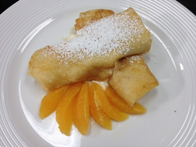 Citrus Brunch Blintzes