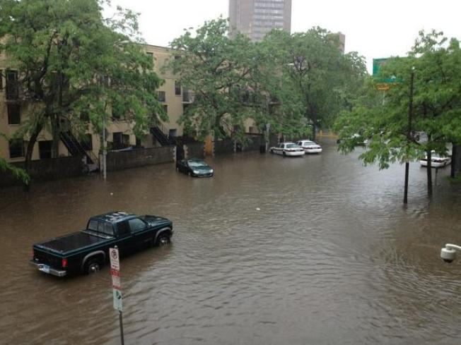 Heavy Rains Keep First Responders Busy