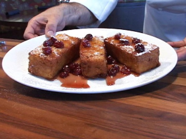 French Toast with Connecticut Maple Syrup