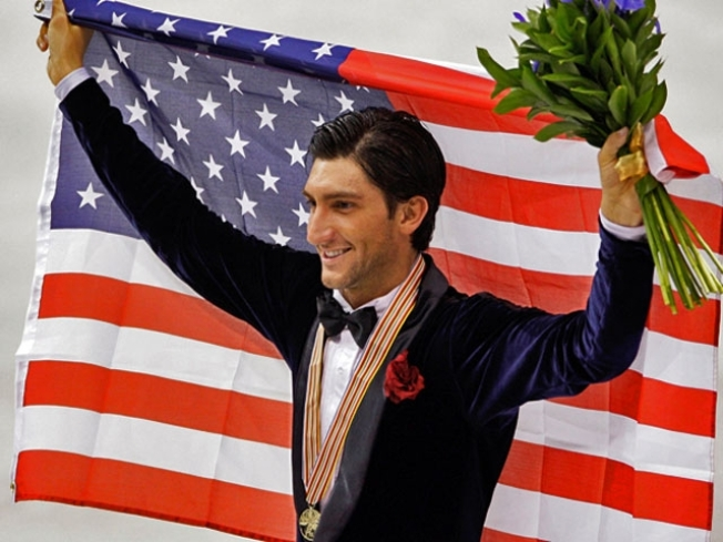 "Evan Lysacek on His ""DWTS"" Cast Mates: ""[Buzz Aldrin] Could Probably Bench-Press Me"""