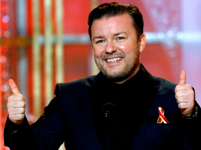 "Ricky Gervais Heading Back to ""The Simpsons"""