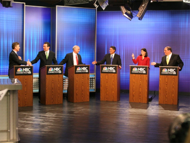 Democrats Square Off in Governor's Debate