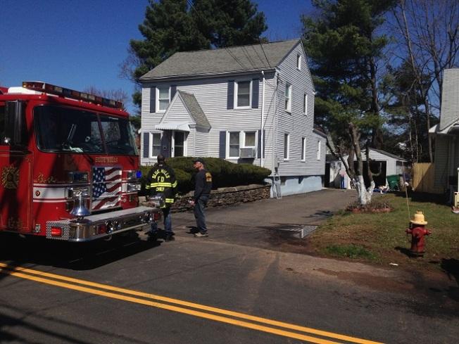 Woman Escapes Fire in Bloomfield
