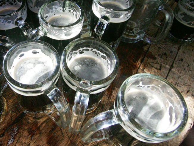 Cheers! Yale Partiers Drink From Silver Goblets Again