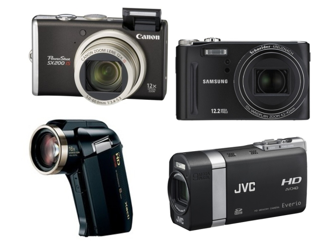 Perfect Pocket Cameras Arrive: Mega Megapixels + HD Video
