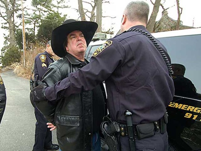 Police Take Rowayton Cowboy Into Custody