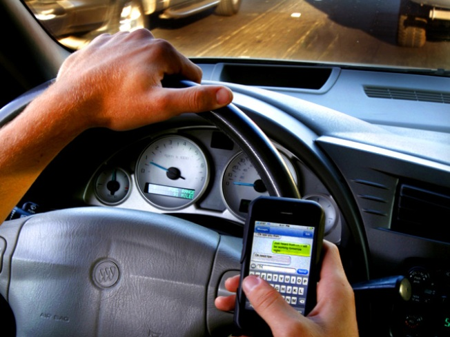 Windham High Launches Distracted Driving Month