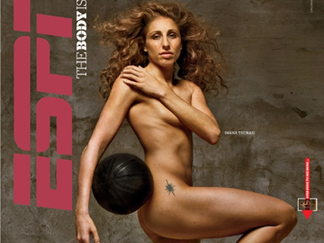 Taurasi Poses in the Buff for ESPN