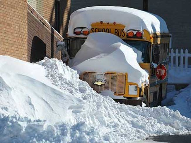Several Hartford Schools Closed to Clear Roofs