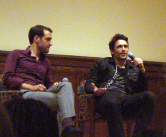"Yale ""Howls"" for James Franco"