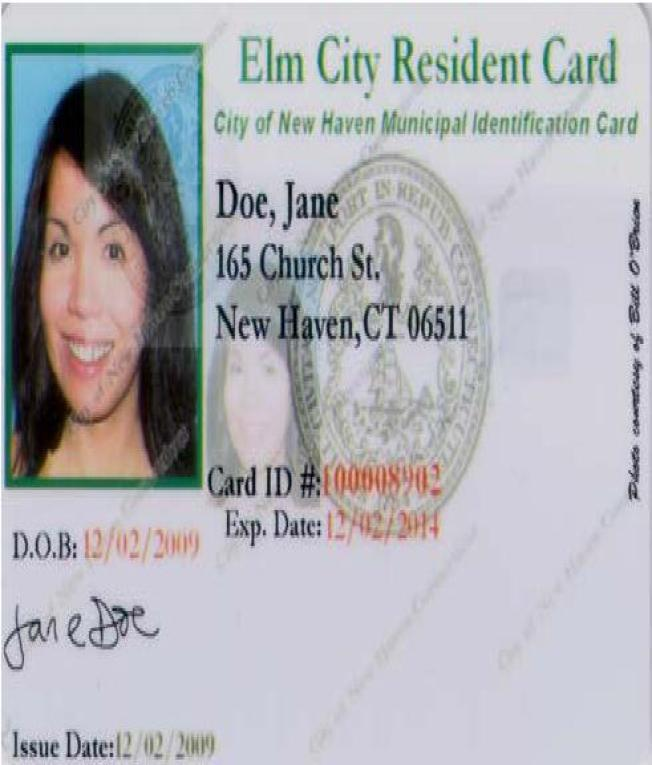 Funds Dry Up For New Haven ID Cards