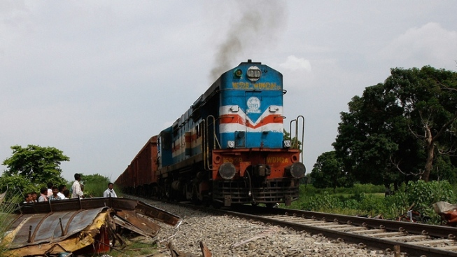 Almost 100 people killed as passenger train derails in northern India
