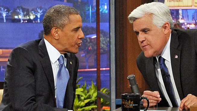 Obama Sends Good Wishes to Jay Leno