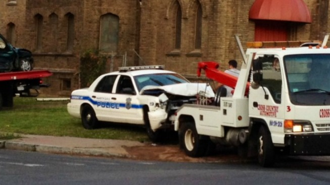 Man Injured in Officer-Involved Crash Dies