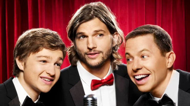 "Ashton Kutcher ""Terrific"" in ""Two and a Half Men"": Charlie Sheen"
