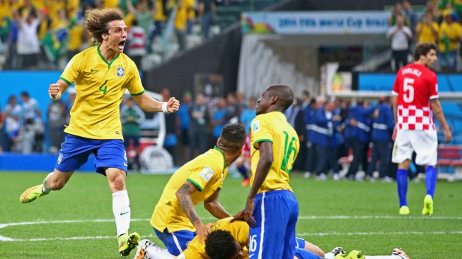 Brazil Beats Croatia in World Cup Opening Game